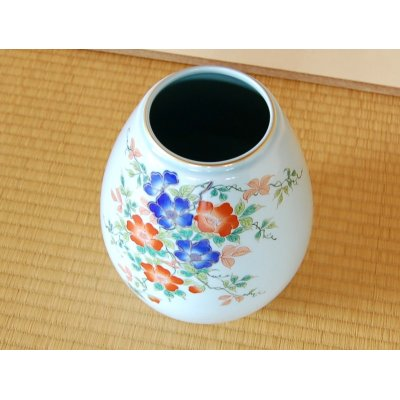 Photo2: Somenishiki Bara rose Vase
