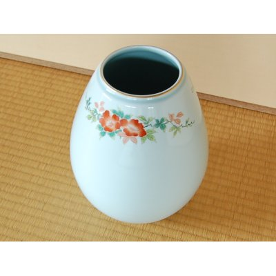 Photo3: Somenishiki Bara rose Vase