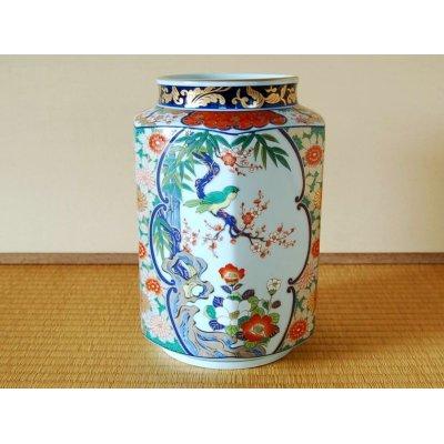 [Made in Japan] Ko-imari kachou Vase