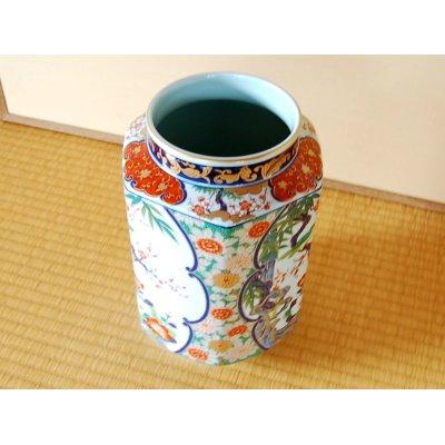 Photo3: Ko-imari kachou Vase
