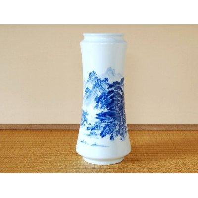 [Made in Japan] Sansui landscape Vase