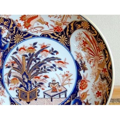 Photo2: Kinran mokkou Ornamental plate(30cm)
