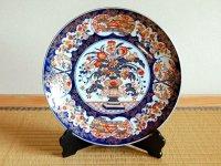 Kinran hanamori Ornamental plate(30cm)