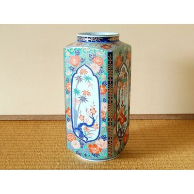 [Made in Japan] Ko-imari fuyou Vase