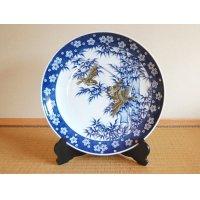 Takechiyo Ornamental plate(45cm)