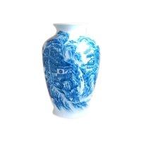 To sansui landscape Vase
