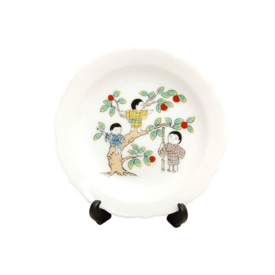 [Made in Japan] Minorino aki (November) Monthly Small ornamental plate