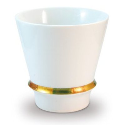 [Made in Japan] Happy ring (White) cup