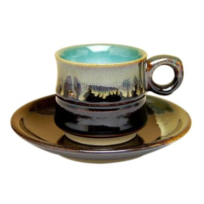 [Made in Japan] Youhen nagashi Cup and saucer