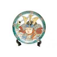 Musha Ornamental plate (a plate displayed at the Boys' Festival)