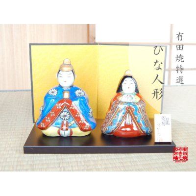 [Made in Japan] Taka Hina doll (a doll displayed at the Girls' Festival)