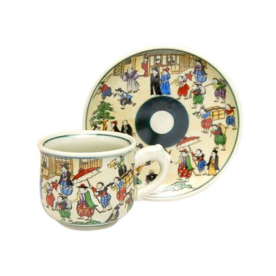 [Made in Japan] Emaki Cup and saucer