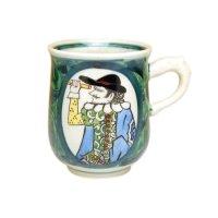 Nanbanjin (Green) mug