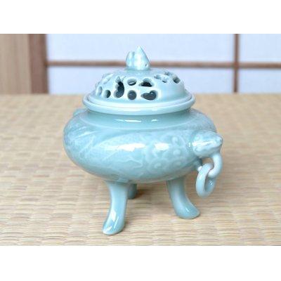 Photo2: Seiji hori ryu Dragon Incense burner