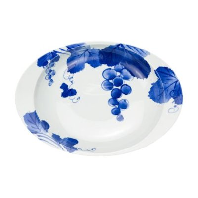 Photo2: Grape Oval dish (26.6cm)