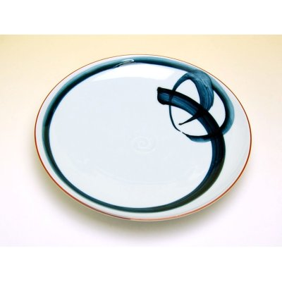 Photo2: Ippon-jime Large plate (24.7cm)