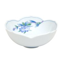 Somenishiki rindow Medium bowl (13.7cm)
