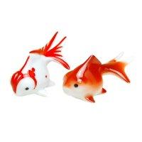 Demekin goldfish (Mottle & Red) Ornament doll