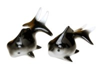 Demekin goldfish (Black & Black) Ornament doll