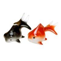 Demekin goldfish (Black & Red)Ornament doll