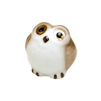[Made in Japan] Kinme fukurou owl Ornament doll