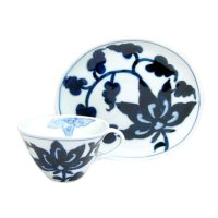 Kyo-seika (White) Cup and saucer