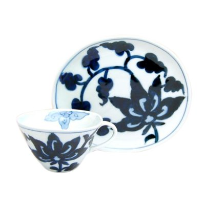 [Made in Japan] Kyo-seika (White) Cup and saucer