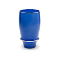 Cobalt blue tall cup