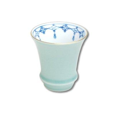 [Made in Japan] Seiji Yohraku (Vertical) SAKE GLASS