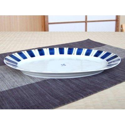 Photo2: Gosu tokusa Large plate (27.5cm)