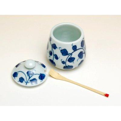 Photo2: Karakusa Cruet with bamboo spoon