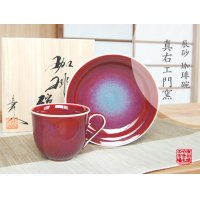 Naigai shinsha Cup and saucer(wooden box)
