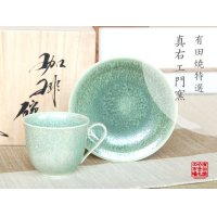 Houghoku Cup and saucer(wooden box)