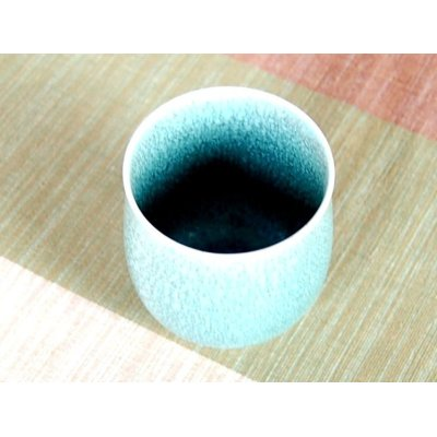 Photo3: Uguisu yu (Small)Japanese green tea cup (wooden box)