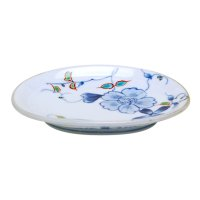 Somenishiki hana botan Small plate (14.7cm)