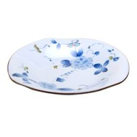 Somenishiki hana botan Large bowl (24.8cm)