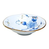 Somenishiki hana botan Medium bowl (16.8cm)