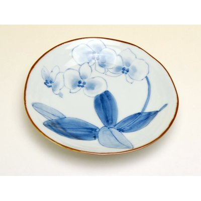Photo3: Kochouran Medium plate (14.6cm)