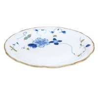 Somenishiki hana botan Large plate (21cm)