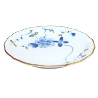 Somenishiki hana botan Medium plate (18.5cm)