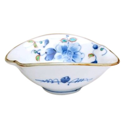 [Made in Japan] Somenishiki hana botan Small bowl