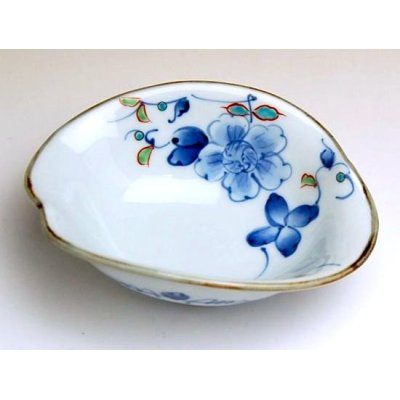 Photo2: Somenishiki hana botan Small bowl (11.2cm)