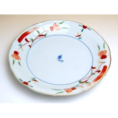 Photo2: Hana kazari Large plate (21cm)