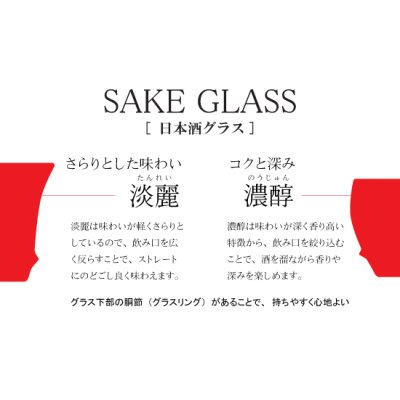 Photo3: Seiji Yohraku (Vertical) SAKE GLASS