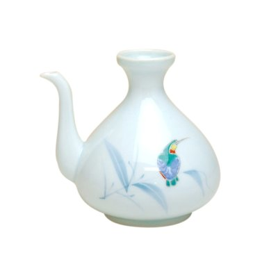 [Made in Japan] Seihakuji kawasemi bird SAKE bottle