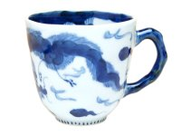 Unryu dragon (Blue) mug