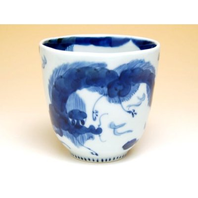 Photo2: Unryu dragon (Blue) mug
