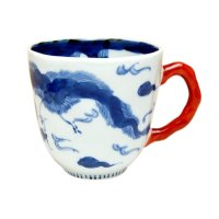 Unryu dragon (Red) mug