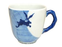 Nagomi getto rabbit (Blue) mug