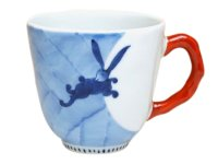 Nagomi getto rabbit  (Red) mug
